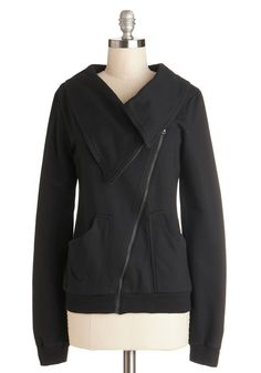 Brunch on the Patio Jacket in Black #modcloth #ad *casual