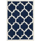 Found it at AllModern - Chatham Dark Blue & Ivory Moroccan Area Rug
