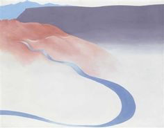 Road to the Ranch by Georgia O'Keeffe