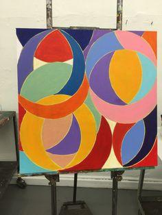 Brilliant colors of circles
