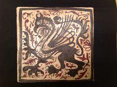 SOCARRAT: motivo tradicional de la cerámica valenciana del s. XIII-XVI. GRIFO