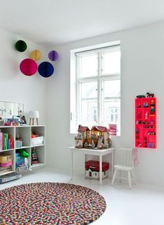 Color color color! Kids room ideas - Paul & Paula
