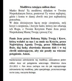 Modlitwa ratująca 1 mln dusz Music Humor, Prayer Quotes, Spiritual Life, Holidays And Events, Holy Spirit, Motto, Catholic, Prayers, Spirituality