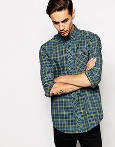Ben Sherman Shirt with Tartan Check (ASOS). I like the colors on this.