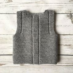 Knit Baby waistcoat Baby vest This is instant downloading PDF-pattern of hand-knit baby vest. Pattern is written in English. Size: 1/3 – 6/9 – 12/18 months Finished measurements: bust (buttoned): 44 – 50 – 56 cm / 17 1/4-19 3/4-22 full length: 26 – 28 – 31 cm / 10 1/4-11-12 1/4
