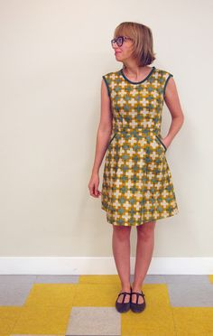 Fancy Tiger Crafts: QuiltCon Sew-a-Thon: Robe Belladone Dress