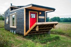 Greenmoxie Tiny House lets you live mortgage-free and off-grid in a luxurious 340 sq. ft. on wheels Greenmoxie Tiny House – Inhabitat - Green Design, Innovation, Architecture, Green Building