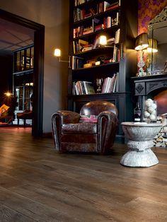 Holzboden Eiche zu Interieur brittish style planeo smoked oak 221   parquett   parkett   design   interieur #parkett #fußboden #brittish style  mehr auf www.planeo.de