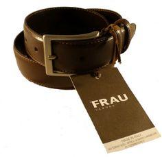 Cintura da uomo in pelle by Frau - Frau online - Valentina Calzature Firenze