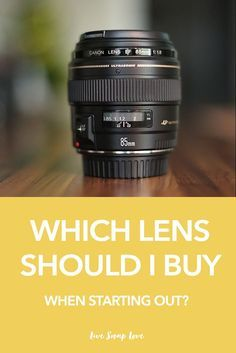 Not sure which lens you should buy first after the kit lens that came with your camera? Then this guide is for you!