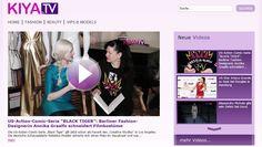 Annika auf Kiya TV! Bericht über die Kostümarbeit für Schauspielerin Rebekka Mueller's Charakter 'Firebrand' in der US Serie 'Black Tiger' die nächstes Jahr gedreht wird.