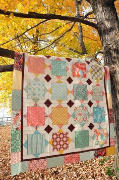 Airing the quilts; getting ready for the winter.