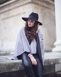 KUKLA shades of grey as a cape  Mit nur einem Kleidungsstück kannst du unendlich viele Looks zaubern  Welcher ist dein liebster #madamekukla Style?  photo: @fashiontweed  #madamekukla #style #fashion #outfit #dress #madeineurope #sustainable #sustainablefashion #vienna #lifestyle #streetstyle #madamekuklastyle #fairfashion #variable #cape #outdoor Shades Of Grey, Tweed, Every Woman, Wrap Dress, Women Wear, Skirts, How To Wear, Outdoor, Outfits