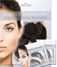 SPECIAL OFFER SET  Collagen cleaning face mask + 2 pcs of collagen eye pact - only 19,90 PLN