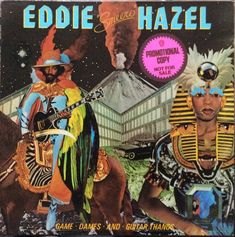 Eddie Hazel : Game, Dames, & Guitar Thangs (LP, Vinyl record album) - A massively tripped-out set of guitar-based funk – played to perfection by the legendary Eddie -- Dusty Groove is Chicago's Online Record Store Vinyl Cover, Lp Vinyl, Cover Art, Vinyl Records, James Brown, Lps, Bootsy Collins, Parliament Funkadelic, Funk Bands
