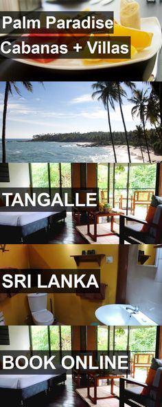 Hotel Palm Paradise Cabanas Villas in Tangalle, Sri Lanka. For more information, photos, reviews and best prices please follow the link. #SriLanka #Tangalle #PalmParadiseCabanas Villas #hotel #travel #vacation