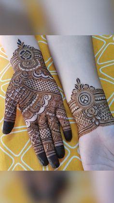 Pretty Henna Designs, Modern Henna Designs, Simple Arabic Mehndi Designs, Henna Tattoo Designs Simple, Latest Bridal Mehndi Designs, Full Hand Mehndi Designs, Mehndi Designs 2018, Mehndi Designs For Girls, Mehndi Designs For Beginners