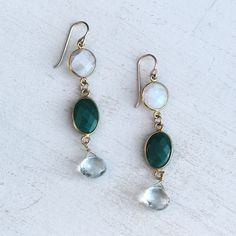 Start with the head by donning these on your lobes. Then pick a fitting dress and pair of heels.