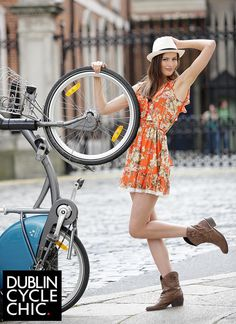 Dublin Cycle Chic by Mikael Colville-Andersen, via Flickr