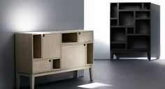 BOXING CLEVER. After three years out of production, The cabinets come in oak, black stained oak and ash.  Zweed