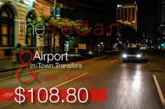 Sedan Airport & In-Town Transfers $108.80 in New Orleans