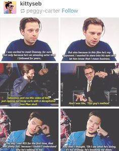 Seb on his 'method' acting I'm done