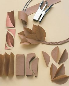 14 Front Door Decorations That Celebrate Everything We Love About Fall - - Creative wreaths, festive monograms, and decorative displays all make for a more welcoming front door during the fall months. Paper Flowers Diy, Flower Crafts, Origami Flowers, Handmade Flowers, Wall Flowers, Flower Wall, Flower Diy, Fall Crafts, Christmas Crafts