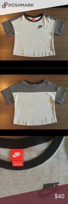 Nike Crop Shirt Women's Nike Boxy Long Crop Tee (not full length, not full crop) Size S. NEVER worn Nike Tops Crop Tops