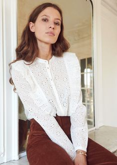 Awesome Sezane's Pre-Fall Collection is Their Best Yet - Women's Jewelry and Accessories-Women Fashion Fashion Mode, Fashion Outfits, Womens Fashion, Fashion Tips, Fashion Quotes, Fashionable Outfits, Dressy Outfits, Work Outfits, Stylish Outfits