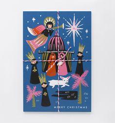 Nativity Set of 10 Postcards