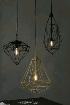 #GeometricArt lamps ❤