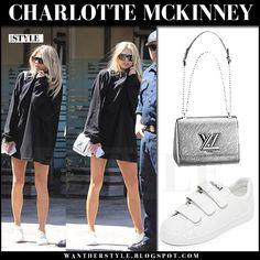 Charlotte McKinney in black sweatshirt and white sneakers Malibu March 26 2017