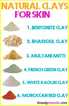Discover the 6 natural clays for skin and use any of them for amazing skin and overall beauty! Did you know that using natural clays for skin is something that has been done since ancient times?! Yes, friends! Mud facials and mud baths are no new trend. In fact, in Morocco, rhassoul clay has been …