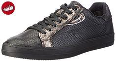 Tamaris Damen 23606 Sneakers, Schwarz (Blk Snake Comb 058), 39 EU - Tamaris schuhe (*Partner-Link)