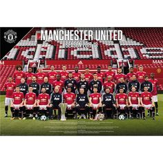 Manchester United Team Poster 17/18