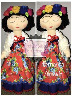 Frida em tecido