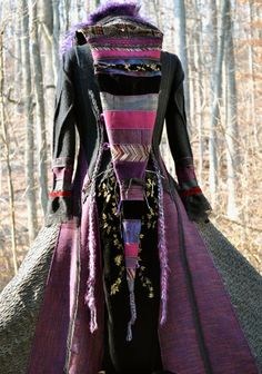 Custom fairy medieval sweater COAT. Eco fantasy by amberstudios, $610.00
