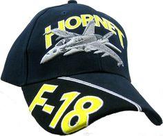 F-18 HORNET Baseball Cap - Meach's Military Memorabilia & More