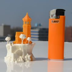 Elder Lighthouse model printed by de3dprintman #prusasl1