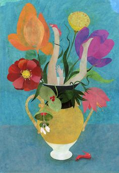 """Le Vase"" by Karine Daisay."