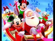 When it comes to Christmas, nothing makes the kids more excited than Disney Christmas Decorations. When you go to the toy store, kids love Disney products, nothing is more classic than Mickey Mouse or Tinkerbell. Natal Do Mickey Mouse, Mickey Mouse E Amigos, Mickey Mouse Christmas, Christmas Cartoons, Mickey Mouse And Friends, Christmas Clipart, Noel Christmas, Christmas Music, Minnie Mouse