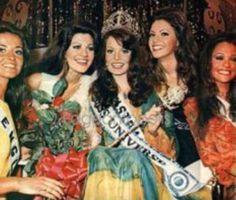 La Venezolana Maria Antonieta Campoli se Ubico de 2da Runner up en el Miss Universe 1972..