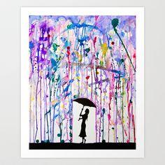 Deluge Art Print by Marc Allante