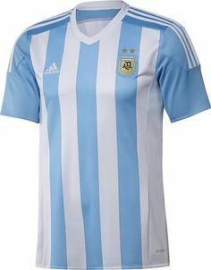 791b9bd0dd5 Argentina 2015-16 adidas Home Football Shirts