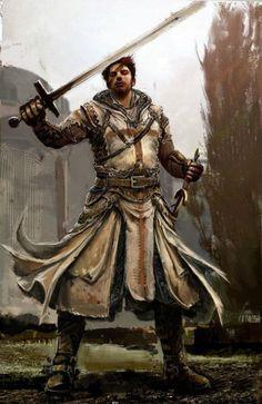 Templar Knight inspiration (Payne)