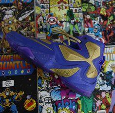 """23ddae3abdcc6c  Heskicks NikeID """"Thanos"""" Custom resurfaces Nike Id"""
