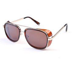 Iron Man 3 Matsuda RAY TONY Sunglasses Men Rossi Coating Sungalss Man Vintage Brand Designer Sun glasses