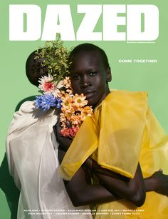 Viviane Sassen shoots Alek Wek for our limited edition cover.  Photography: Viviane Sassen Styling: Robbie Spencer All clothes: Rick Owens
