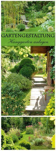 Hanggarten Gestalten, Gartenentwürfe und Gärten - indoor garten anlegen geeignete pflanzen