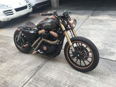 Harley Davidson Sportster 883 Cancun, Mexico